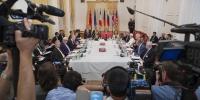 当地时间2015年7月13日,奥地利维也纳,伊核问题会议。 - BRTN新闻