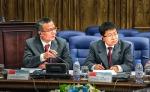 市审计局郭彤副局长赴哈萨克斯坦参加上合组织国家医疗卫生平行审计研讨会 - 审计局