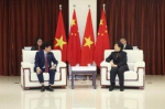 胡泽君会见越南审计代表团 秦博勇参加会见 - 审计局