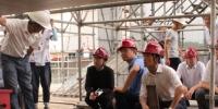 """""""合力之门""""保畅通、基础建设促发展--王鑫副巡视员带队检查长安街西延永定河特大桥工程 - 住房和城乡建设委员会"""