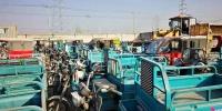 昌平区集中解体256辆违法燃油、电动两三轮摩托车 - 公安局公安交通管理局