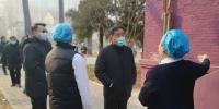 姜沛民慰问一线工作人员 调研学校疫情防控情况 - 农业大学