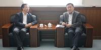 姜沛民会见湖南农大党委书记陈弘一行 - 农业大学
